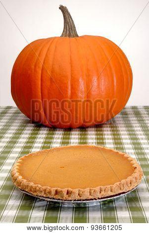 Festive Pumpkin And Pie