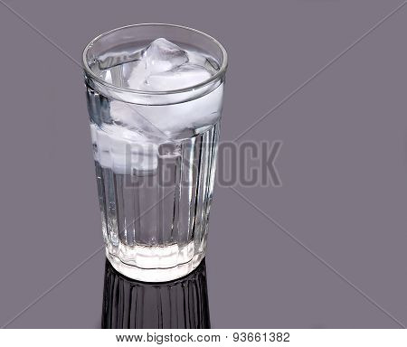 Ice Water Glass