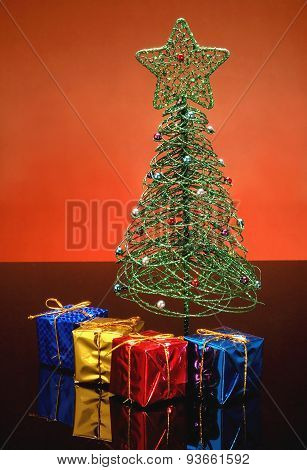 Christmas Wrapped Gifts