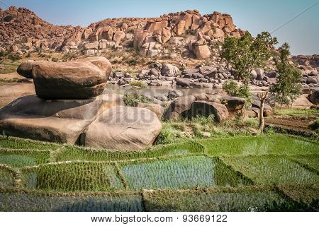 Inspiring Hampi landscape