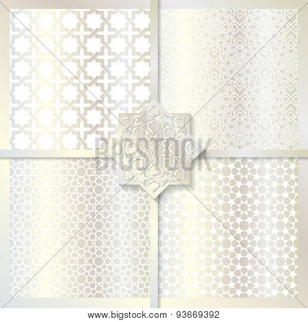 Seamless Islamic Patterns Set