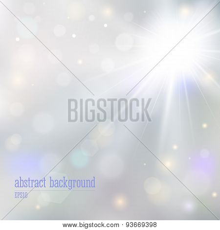 Abstract Background With Blurry Lights