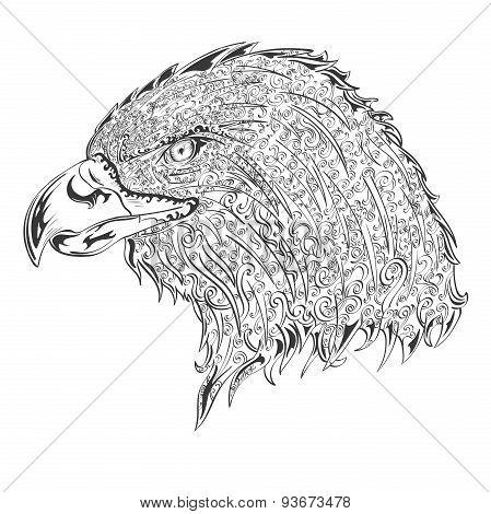 Stylised eagle