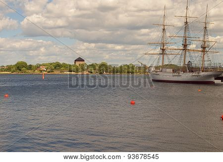 Sailing ship from Karlskrona.
