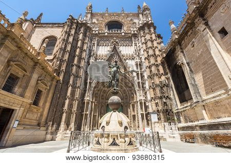 The Cathedral of Saint Mary of the See, Seville Spain