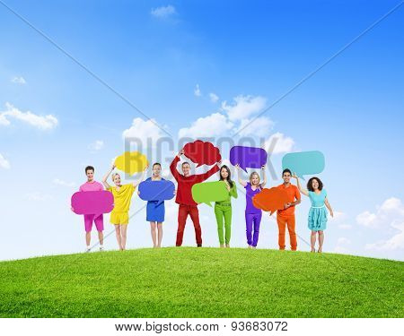 Diverse Diversity Ethnic Ethnicity Unity Togetherness Concept