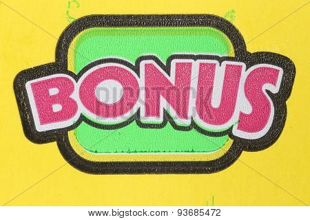 Coquitlam BC Canada - June 04, 2015 : Bonus section on lottery ticket. The British Columbia Lottery Corporation has provided government sanctioned lottery games in British Columbia since 1985.