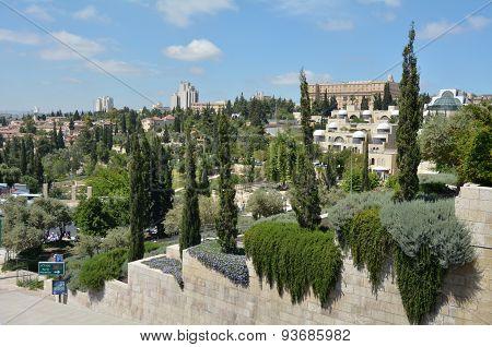 Skyline Of Jerusalem, Israel