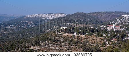 Landscape Of Jerusalem Mountains - Israel
