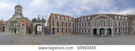 Panorama Upper Yard of Dublin Castle