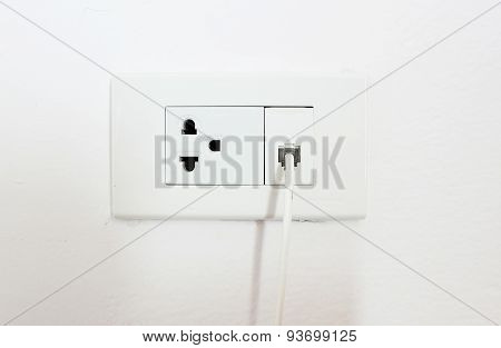 Plug and Telephone line