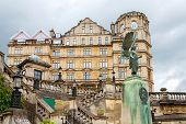image of parade  - View Bath architecture from Parade Gardens - JPG