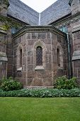 image of gothic  - Falkenberg church built in neo - JPG