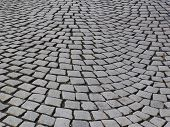 picture of cobblestone  - walk along the ancient cobblestones on the streets in Bergen - JPG