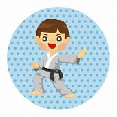 picture of taekwondo  - Taekwondo Theme Elements - JPG