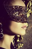 image of masquerade  - Close - JPG