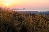 pic of costa blanca  - Costa Blanca sunrise with Altea bay in the background - JPG