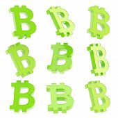 picture of bitcoin  - Bitcoin green peer - JPG