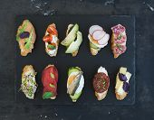 image of sandwich  - Mini sandwich set - JPG
