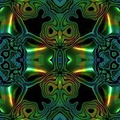 pic of celtic  - Abstract metallic blue - JPG
