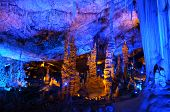 pic of cave  - Soreq Avshalom Cave located in the Judean Mountains Israel - JPG