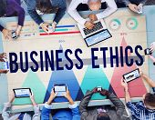 stock photo of integrity  - Business Ethics Honesty Ideology Integrity Concept - JPG