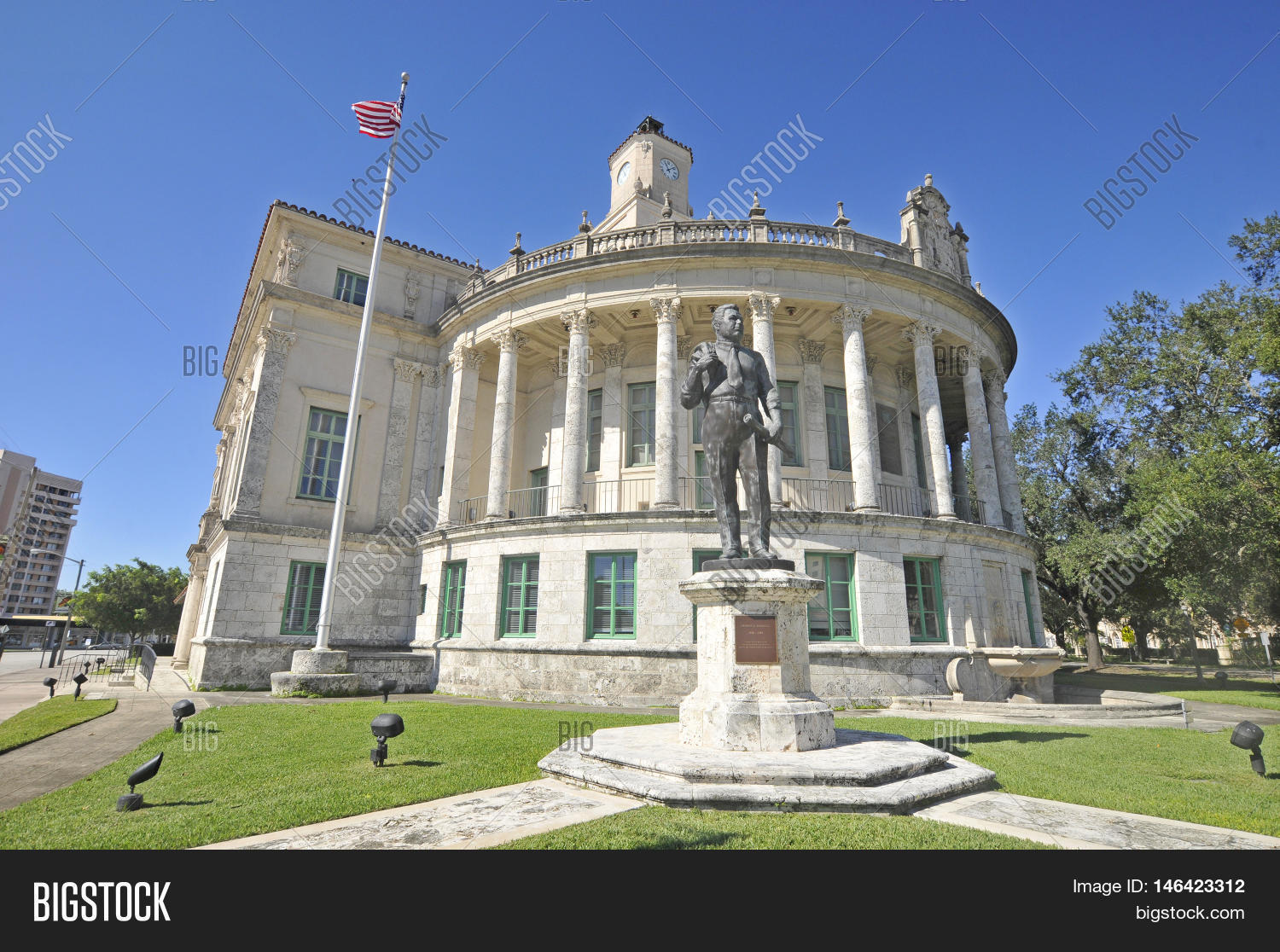 Miami florida usa october 29 image photo bigstock for Historical sites in the usa