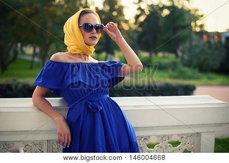 Fashionable Beautiful Woman