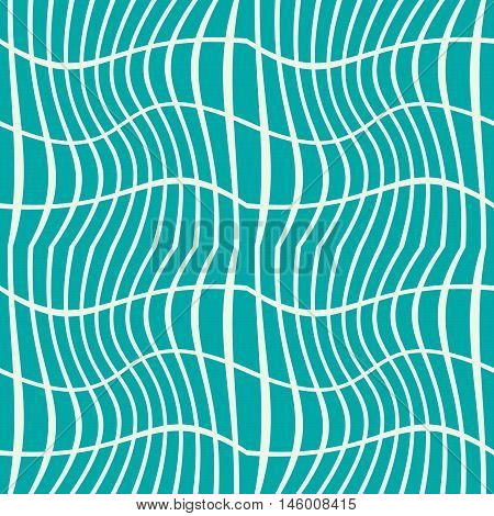 Vector geometric illusive seamless pattern abstract endless composition created with overlay curls and lines. Decorative background with intertwine curves.