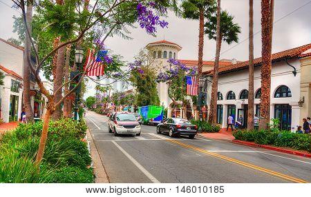 Santa Barbara - California Travel Shots - USA - june