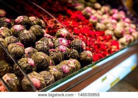 Istanbul Turkey - October 16 2015 : Walk to the shops at Grand Bazaar