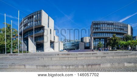State parliament building in Dusseldorf, Germany