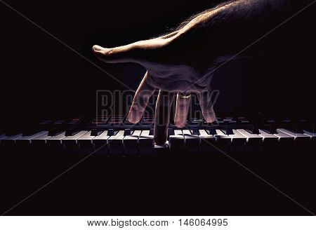 One Hand On A Midi Controller