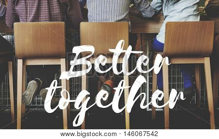Better Together Community Family Support Concept