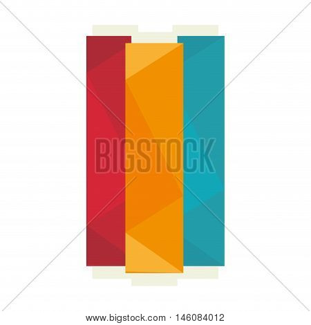 textile fabric roll tube. fashion  industry equipment Vector illustration