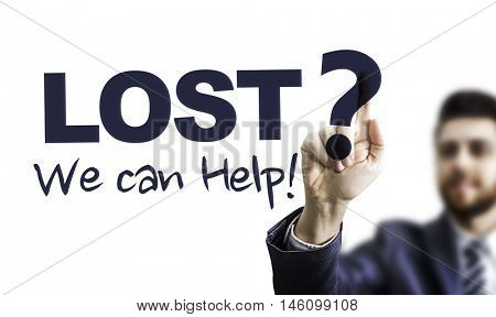 Lost? We Can Help!