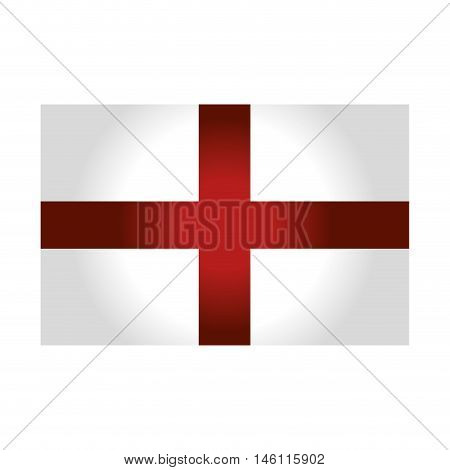 england country flag.british europe symbol. vector illustration