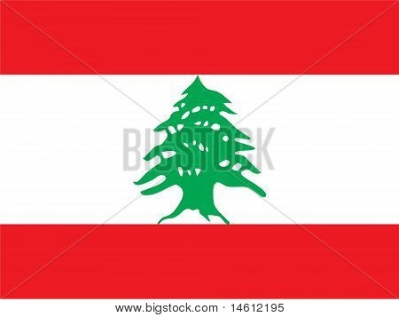 Lebanon National Flag