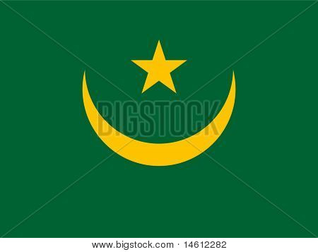 Mauritania National Flag