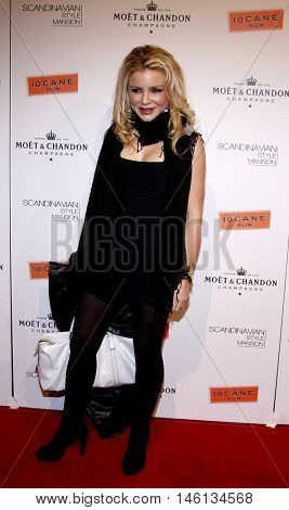 Casey Johnson at the Scandinavian Style Mansion held at the Private Residence in Bel Air, USA on December 1, 2007.