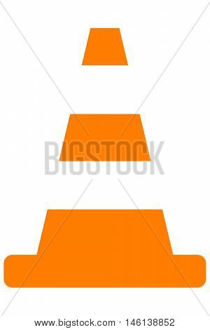 Cone traffic construction safety plastic road forbidden