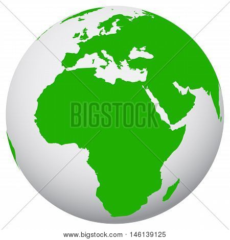 earth icon sunlight africa icon environment glossy