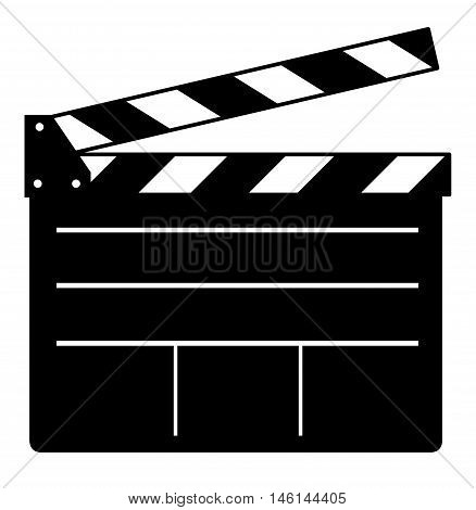 Movie clapper board producer equipment media clapboard