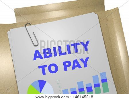 Ability To Pay Concept