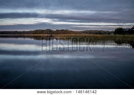 Lake In Evening