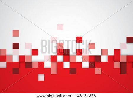 Vector of abstract geometrical shape and background