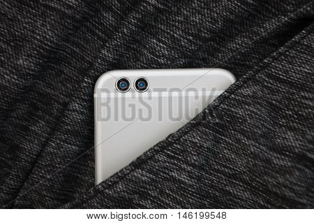 New Dual Camera Smart Phone In Pocket