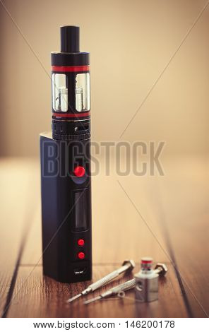 Upgrading E-cig Vaporizer With Kanthal Clapton Coil Drip