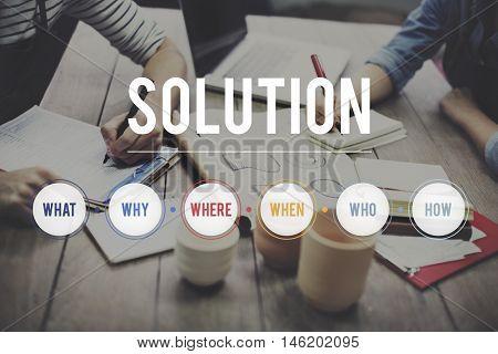Solution Question System Problem Solving Concept