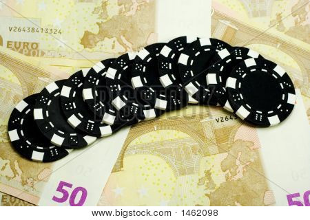 Casino Chips And Euros